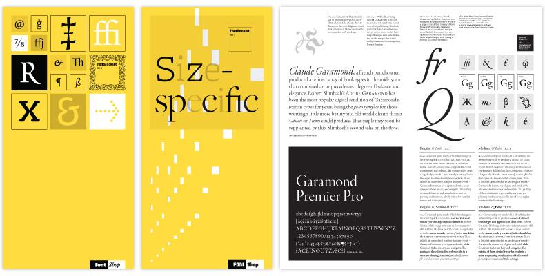 FontShop FontBooklets