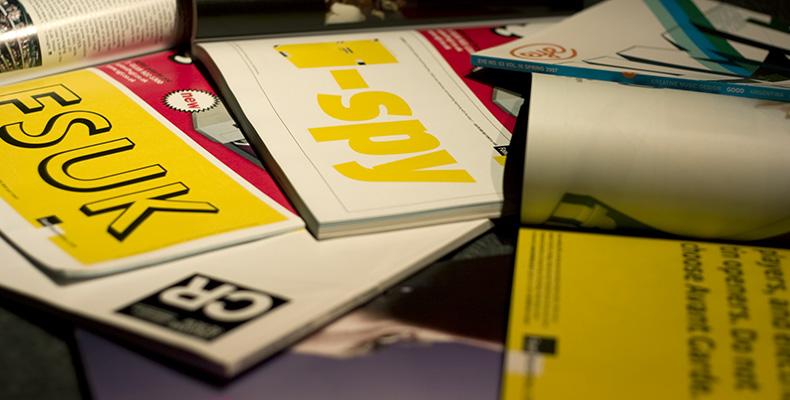 FontShop print ads (2007)
